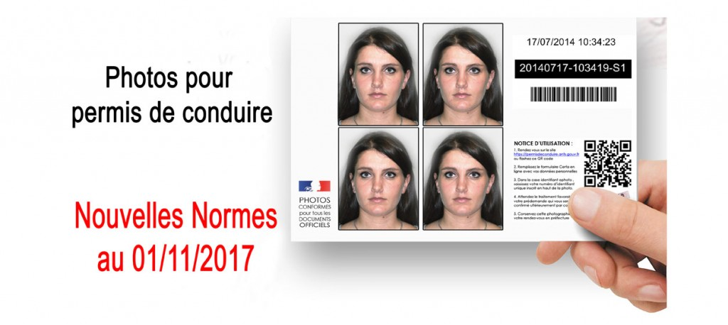 Photo d'identité agéé ANTS pour permis de conduire à Sarregemines - 57